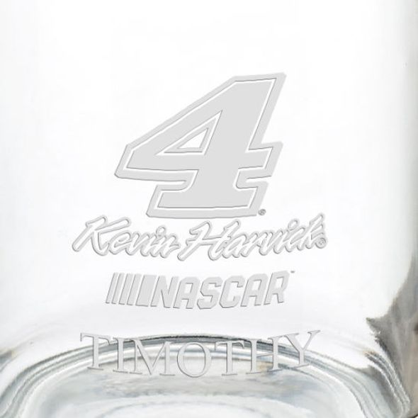Kevin Harvick Glass Coffee Mug - Image 3