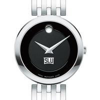 Saint Louis University Women's Movado Esparanza Stainless Steel Museum with Bracelet