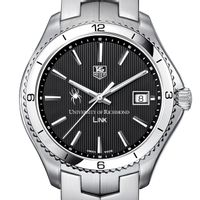 University of Richmond Men's Link Watch with Black Dial