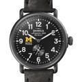 Michigan Ross Shinola Watch, The Runwell 41mm Black Dial - Image 1