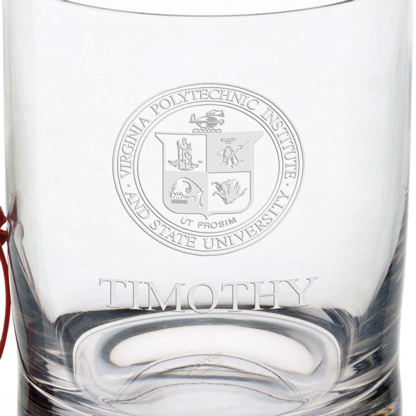 Virginia Tech Tumbler Glasses - Set of 4 - Image 3