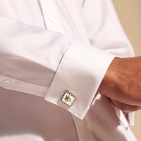 West Point Cufflinks by John Hardy with 18K Gold