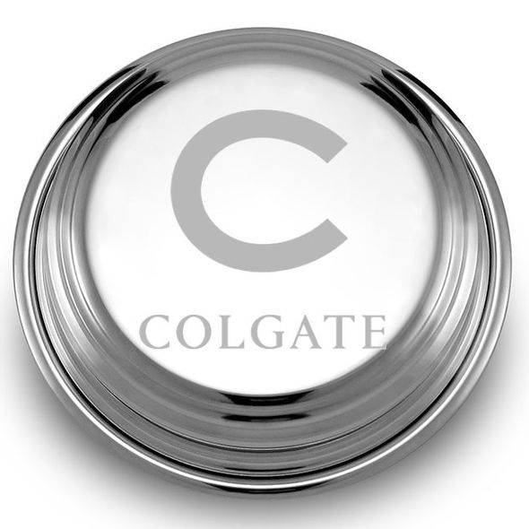 Colgate Pewter Paperweight - Image 2