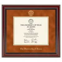 University of Texas Diploma Frame, the Fidelitas