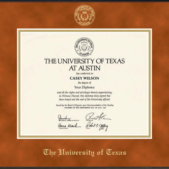 University of Texas Diploma Frame, the Fidelitas - Image 2