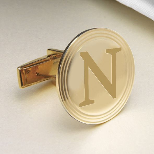 Northwestern 18K Gold Cufflinks - Image 2