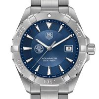 Muddy Chef Men's TAG Heuer Steel Aquaracer with Blue Dial