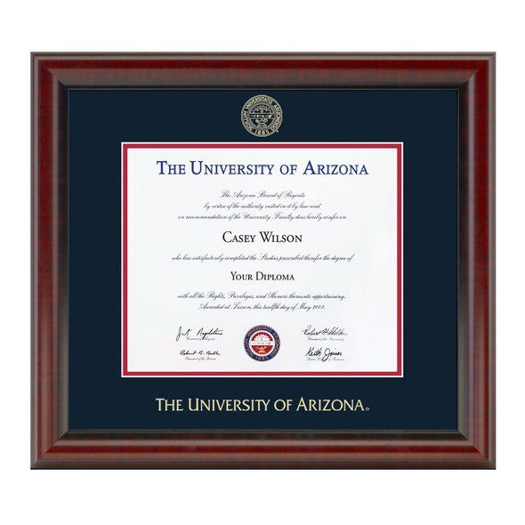 University of Arizona Diploma Frame, the Fidelitas - Image 1