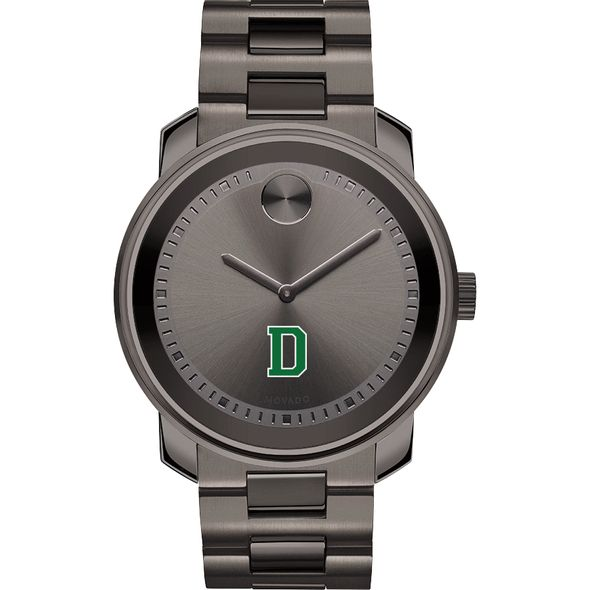 Dartmouth College Men's Movado BOLD Gunmetal Grey - Image 2