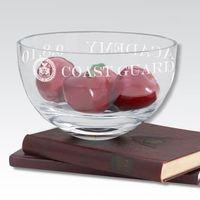 "USCGA 10"" Glass Celebration Bowl"