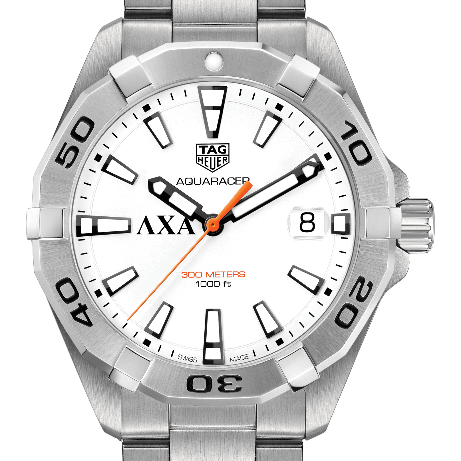 Lambda Chi Alpha Men's TAG Heuer Steel Aquaracer
