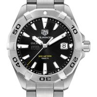 Emory Goizueta Men's TAG Heuer Steel Aquaracer with Black Dial