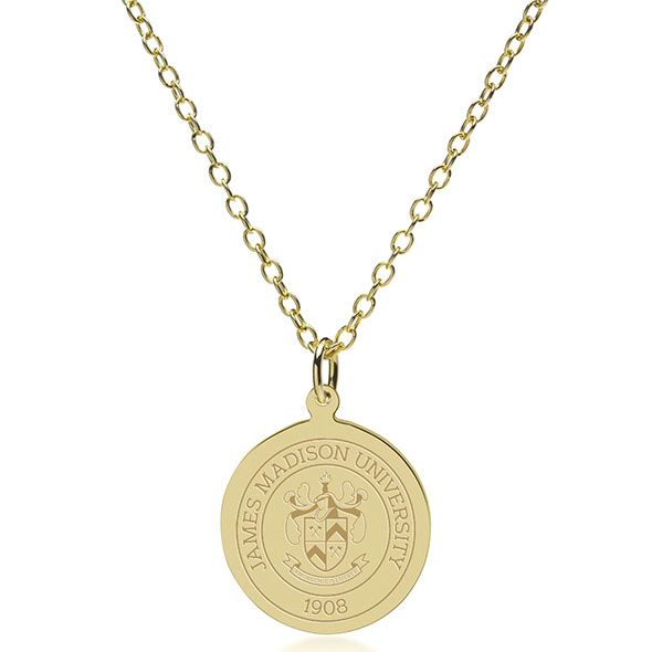 James Madison 14K Gold Pendant & Chain - Image 2