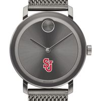 St. John's University Men's Movado BOLD Gunmetal Grey with Mesh Bracelet