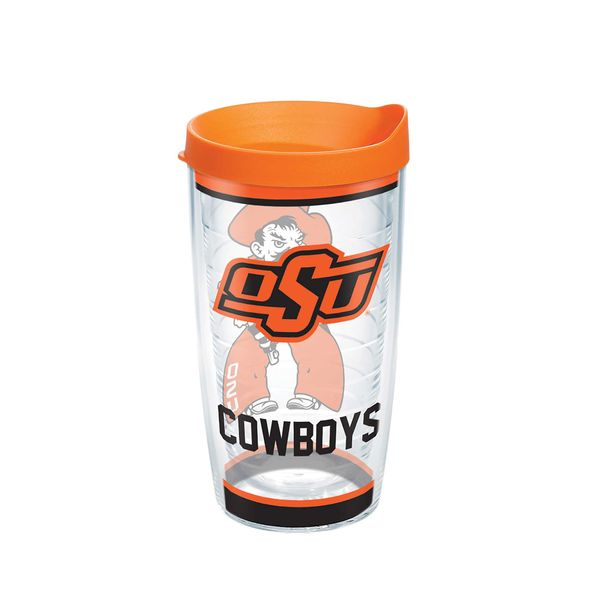 Oklahoma State 16 oz. Tervis Tumblers - Set of 4 - Image 1