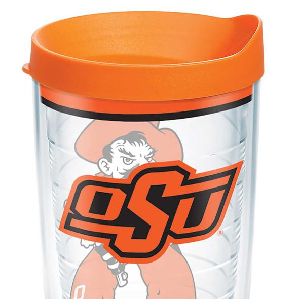 Oklahoma State 16 oz. Tervis Tumblers - Set of 4 - Image 2