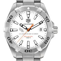 US Coast Guard Academy Men's TAG Heuer Steel Aquaracer