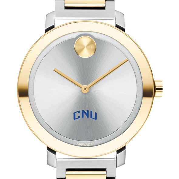 Christopher Newport University Women's Movado Two-Tone Bold 34