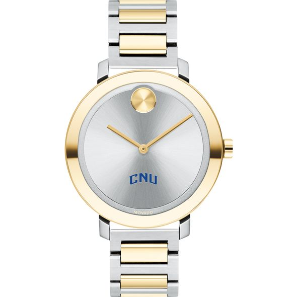 Christopher Newport University Women's Movado Two-Tone Bold 34 - Image 2