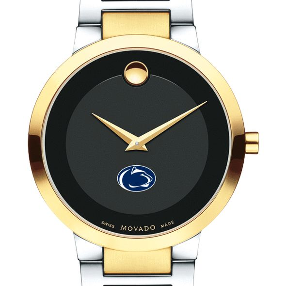 Penn State University Men's Movado Two-Tone Modern Classic Museum with Bracelet