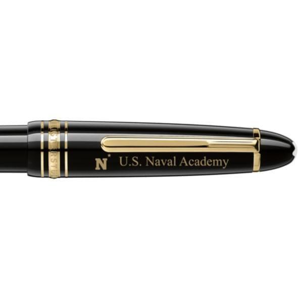 US Naval Academy Montblanc Meisterstück LeGrand Ballpoint Pen in Gold - Image 2