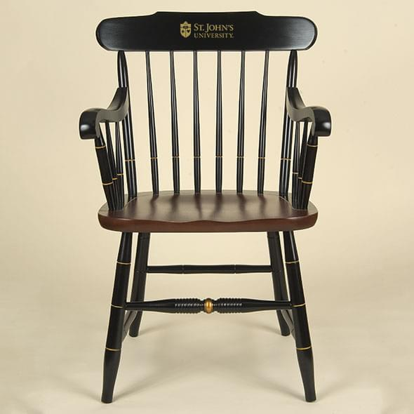 St. John's University Captain's Chair by Hitchcock