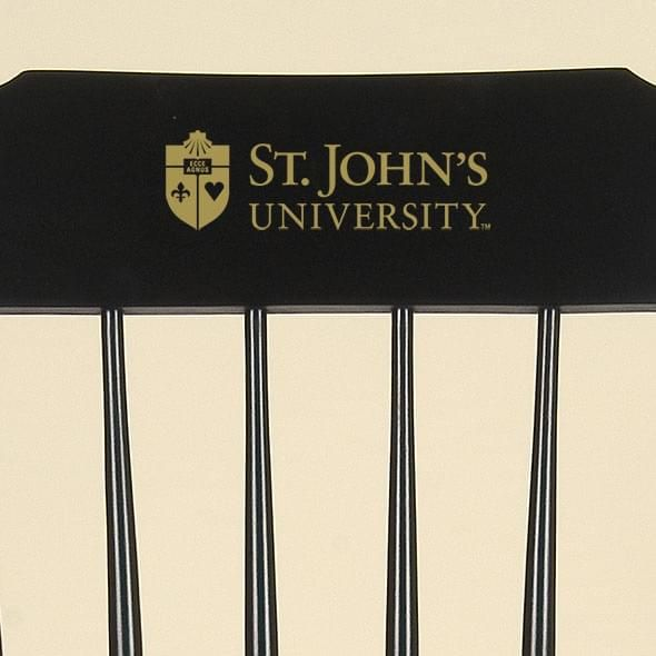 St. John's University Captain's Chair by Hitchcock - Image 2