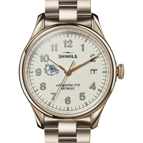 Gonzaga Shinola Watch, The Vinton 38mm Ivory Dial