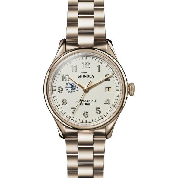 Gonzaga Shinola Watch, The Vinton 38mm Ivory Dial - Image 2