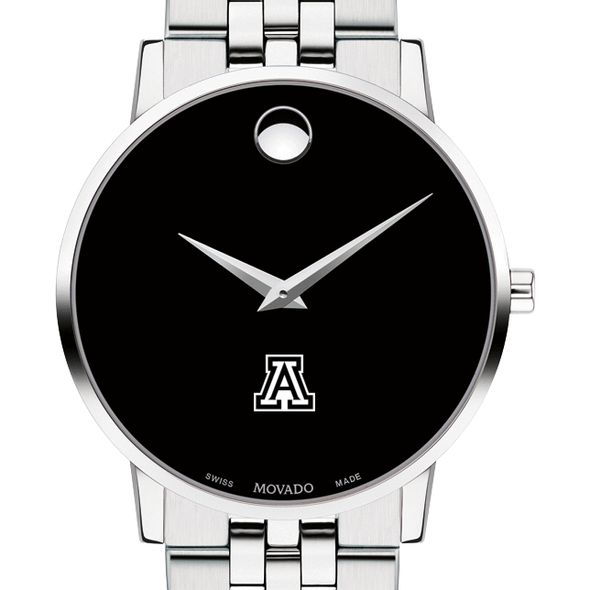 University of Arizona Men's Movado Museum with Bracelet - Image 1