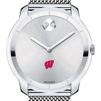 University of Wisconsin Men's Movado Stainless Bold 44