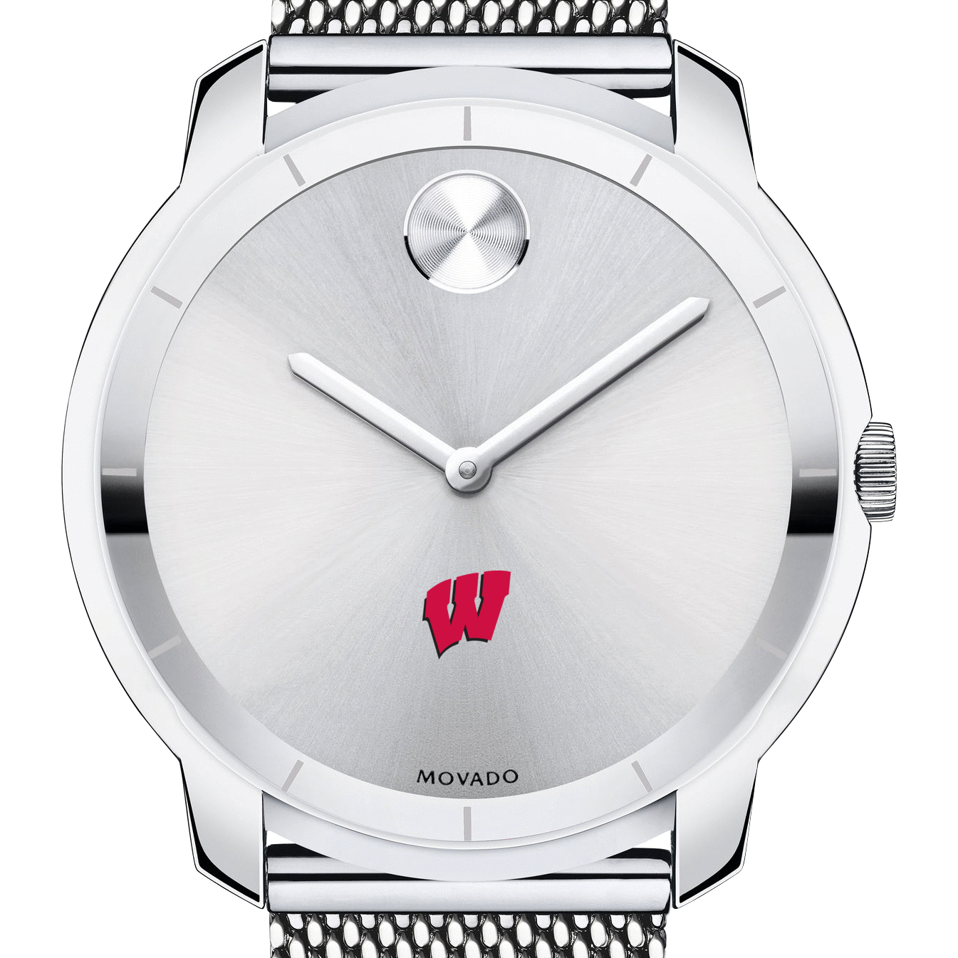 Wisconsin Men's Movado Stainless Bold 44