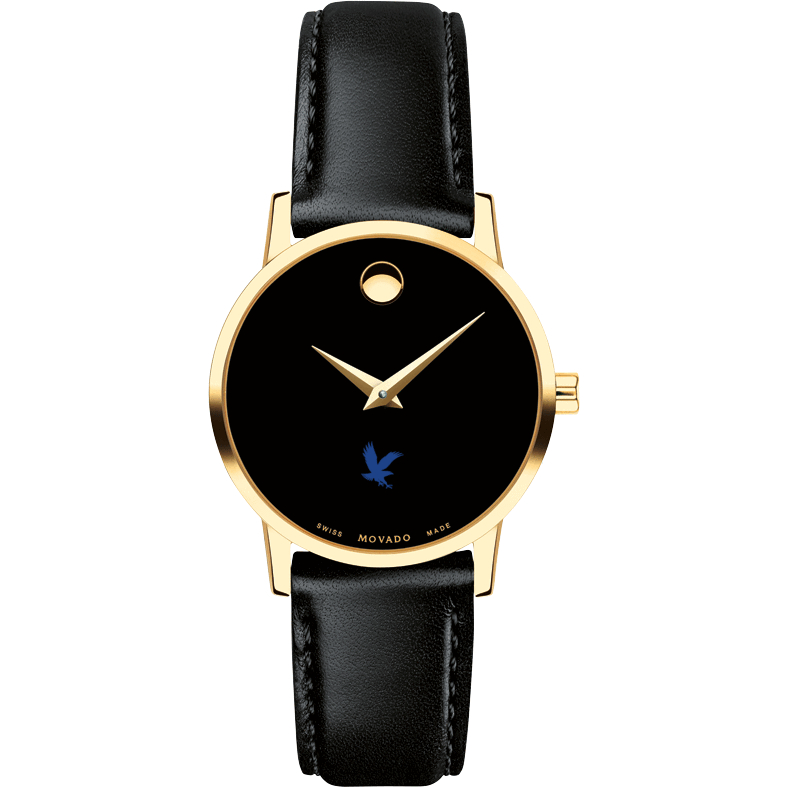Embry-Riddle Women's Movado Gold Museum Classic Leather - Image 2