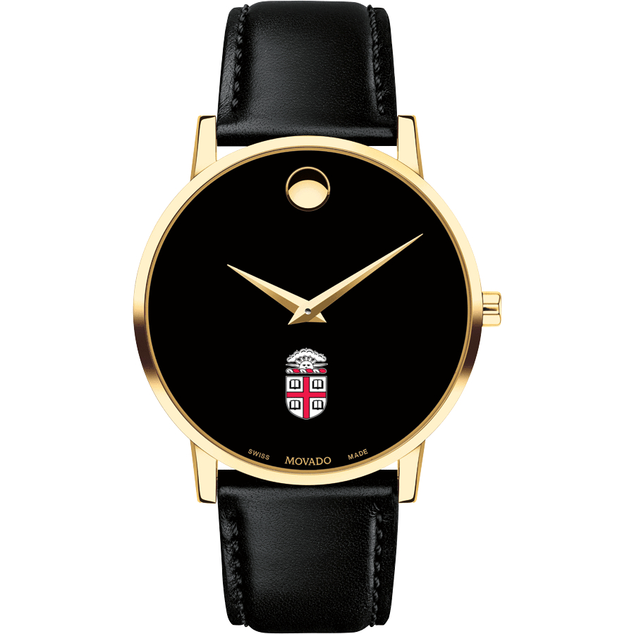 Brown Men's Movado Gold Museum Classic Leather - Image 2