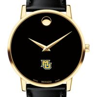 Marquette Men's Movado Gold Museum Classic Leather