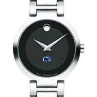Penn State University Women's Movado Museum with Steel Bracelet