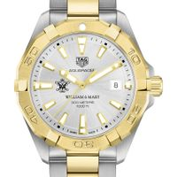 William & Mary Men's TAG Heuer Two-Tone Aquaracer