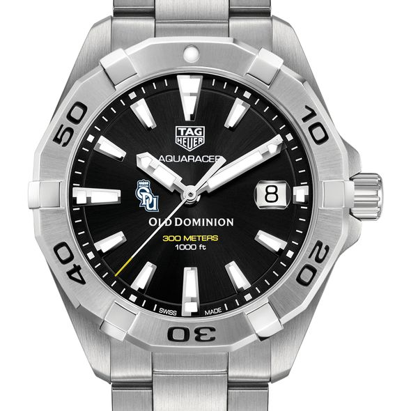 Old Dominion Men's TAG Heuer Steel Aquaracer with Black Dial