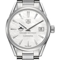 Columbia University Women's TAG Heuer Steel Carrera with MOP Dial