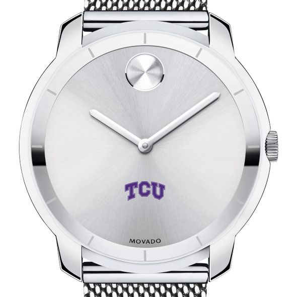 Texas Christian University Men's Movado Stainless Bold 44