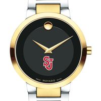 St. John's University Men's Movado Two-Tone Modern Classic Museum with Bracelet