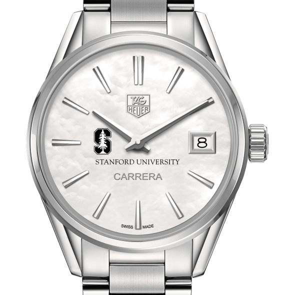 Stanford University Women's TAG Heuer Steel Carrera with MOP Dial