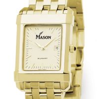 George Mason University Men's Gold Quad with Bracelet