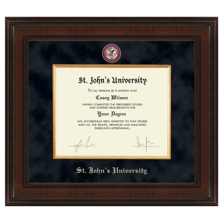 St. John's Juris Doctor Excelsior Frame