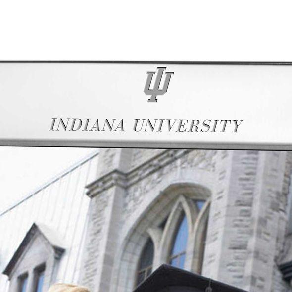 Indiana University Polished Pewter 8x10 Picture Frame - Image 2