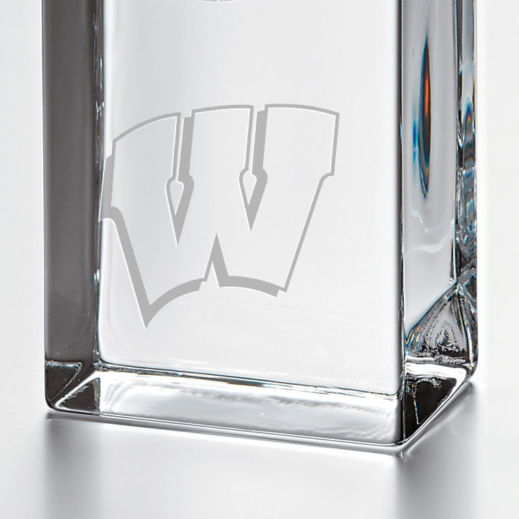 Wisconsin Tall Desk Clock by Simon Pearce - Image 2