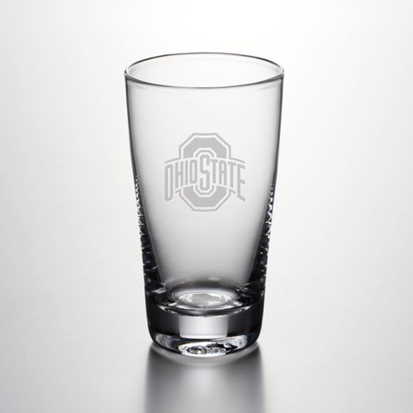 Ohio State Ascutney Pint Glass by Simon Pearce - Image 1