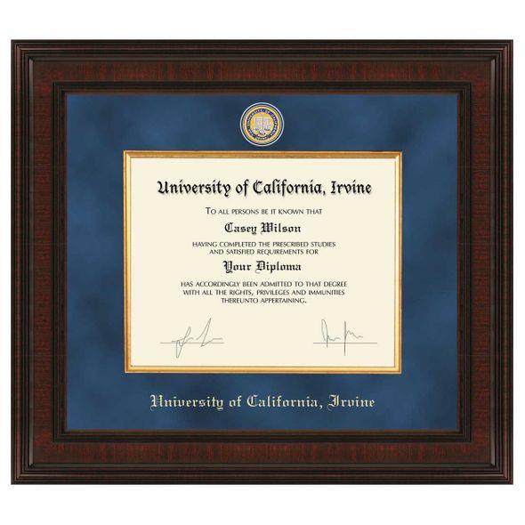 UC Irvine Diploma Frame - Excelsior - Image 1