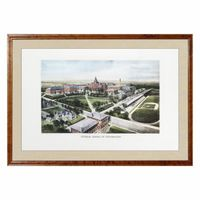 Historic Georgia Tech Watercolor Print