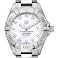 SC Johnson College Women's TAG Heuer Steel Aquaracer with MOP Diamond Dial - Image 1